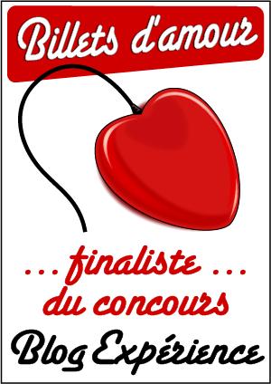 Billets d'amour : les 5 finalistes