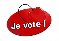 Billets d'amour : bouton de vote