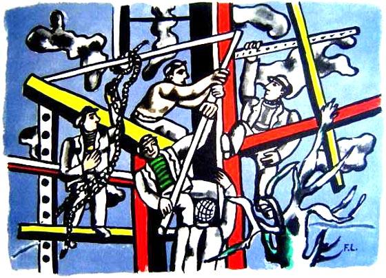 Fernand Leger - Les Constructeurs