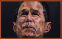 George W Bush, l'artiste et quelques trouducs