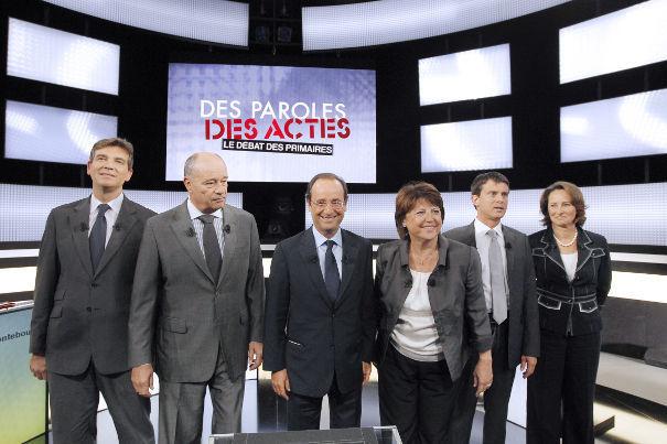 primaires socialiste : le débat, acte 1