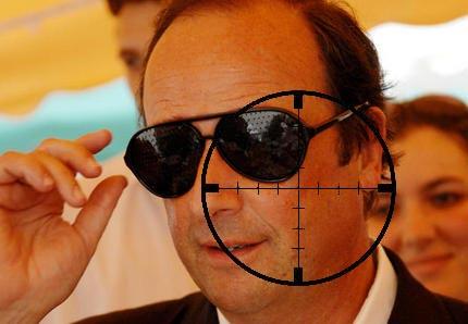 Francois Hollande, l'homme à abattre