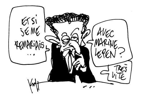 Sarkozy épouse Le Pen