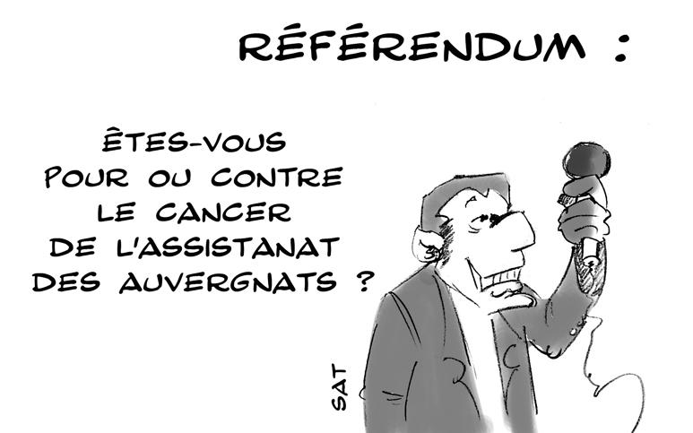referendum : une illustration de SaT