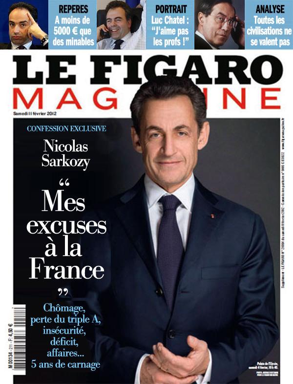Sarkozy dans le Figaro