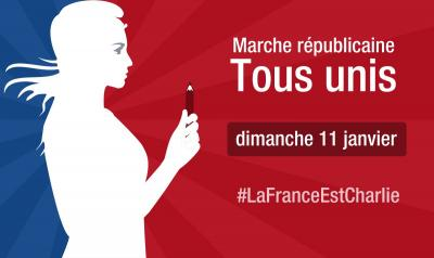 Dimanche 11 janvier, la France est Charlie