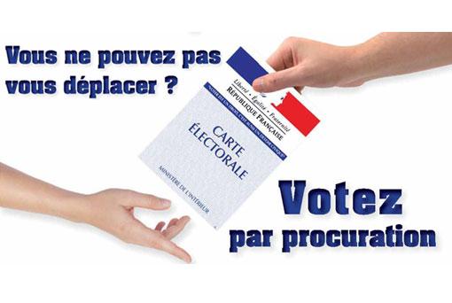 comment voter par procuration