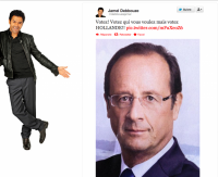 Quand Jamel Debbouze appelle au vote - #VoteHollande