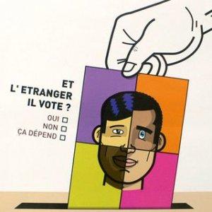 """Pétition nationale UMP: """"non"""" au droit de vote des étrangers !"""