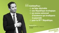 Fort de mes convictions, je vote Benoit Hamon
