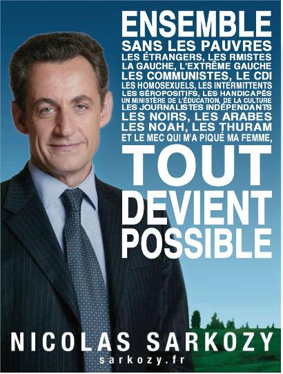avec Sarkozy tout est possible
