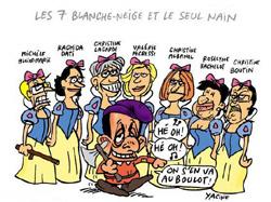 Sarkozy au boulot