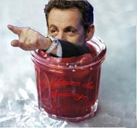 Sarkozy et le pot de confiture du mensonge