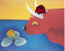 la grenouille modem et le boeuf socialiste