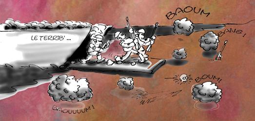 la guerre de Sarkozy