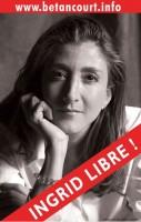 Ingrid Bétancourt libérée par le président Uribe