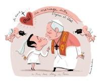 Benoit et Nicolas : un mariage laïque