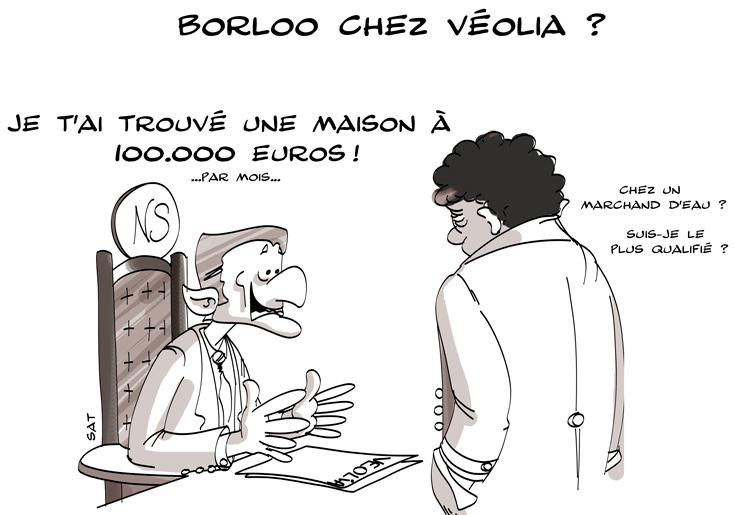 Sarkozy et Proglio offre Veolia a Borloo