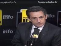 Nicolas Sarkozy, candidat d'origine UMP et d'apparence FN