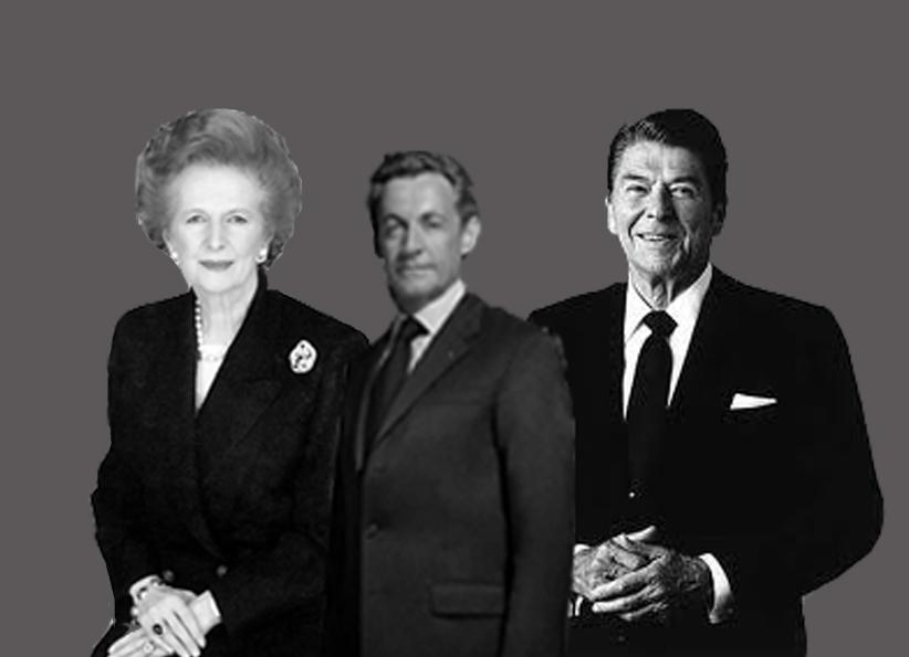 Reagan Thatcher Sarkozy Liberalisme libéraux